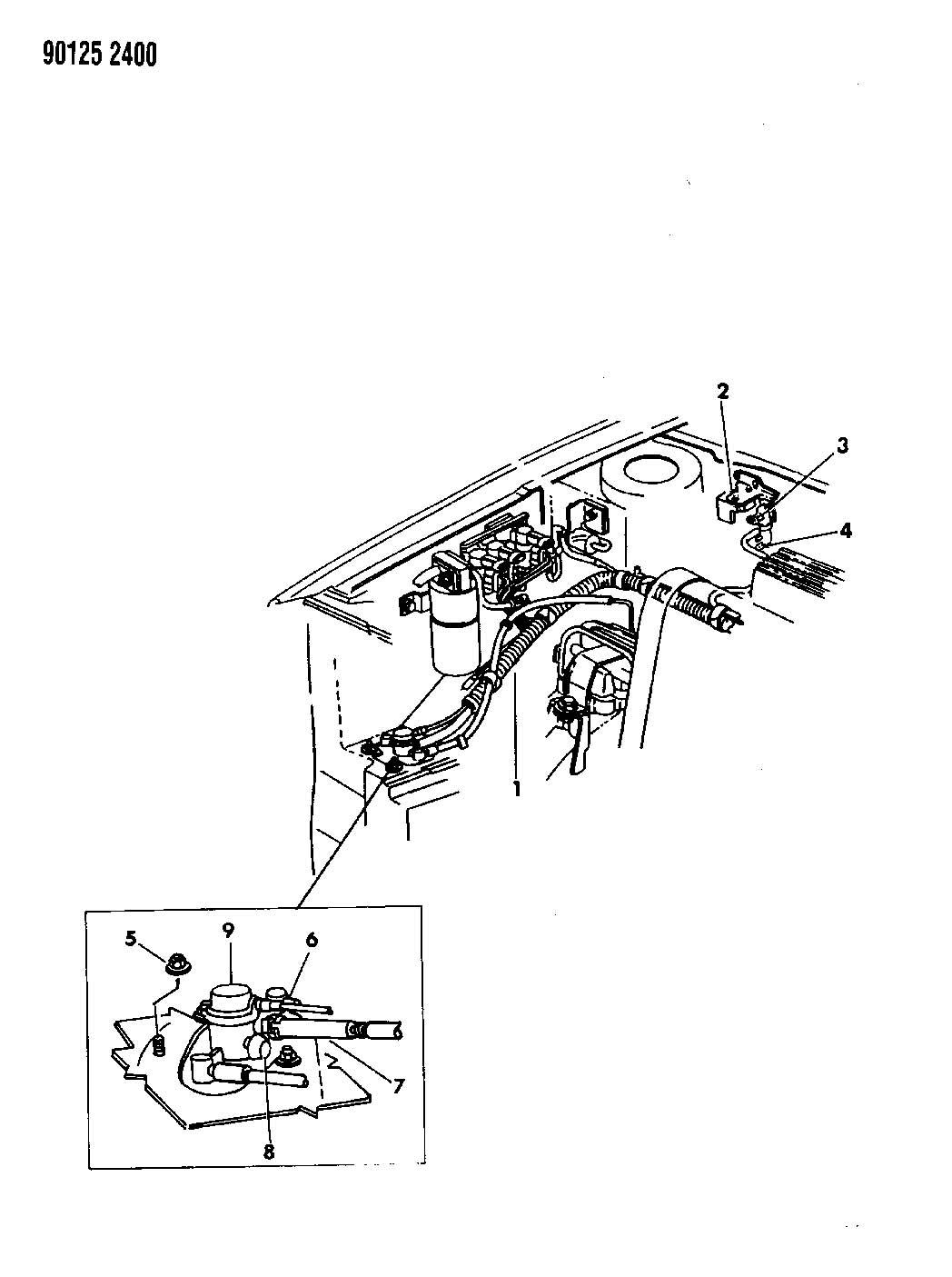 plymouth sundance 2 5l turbo i