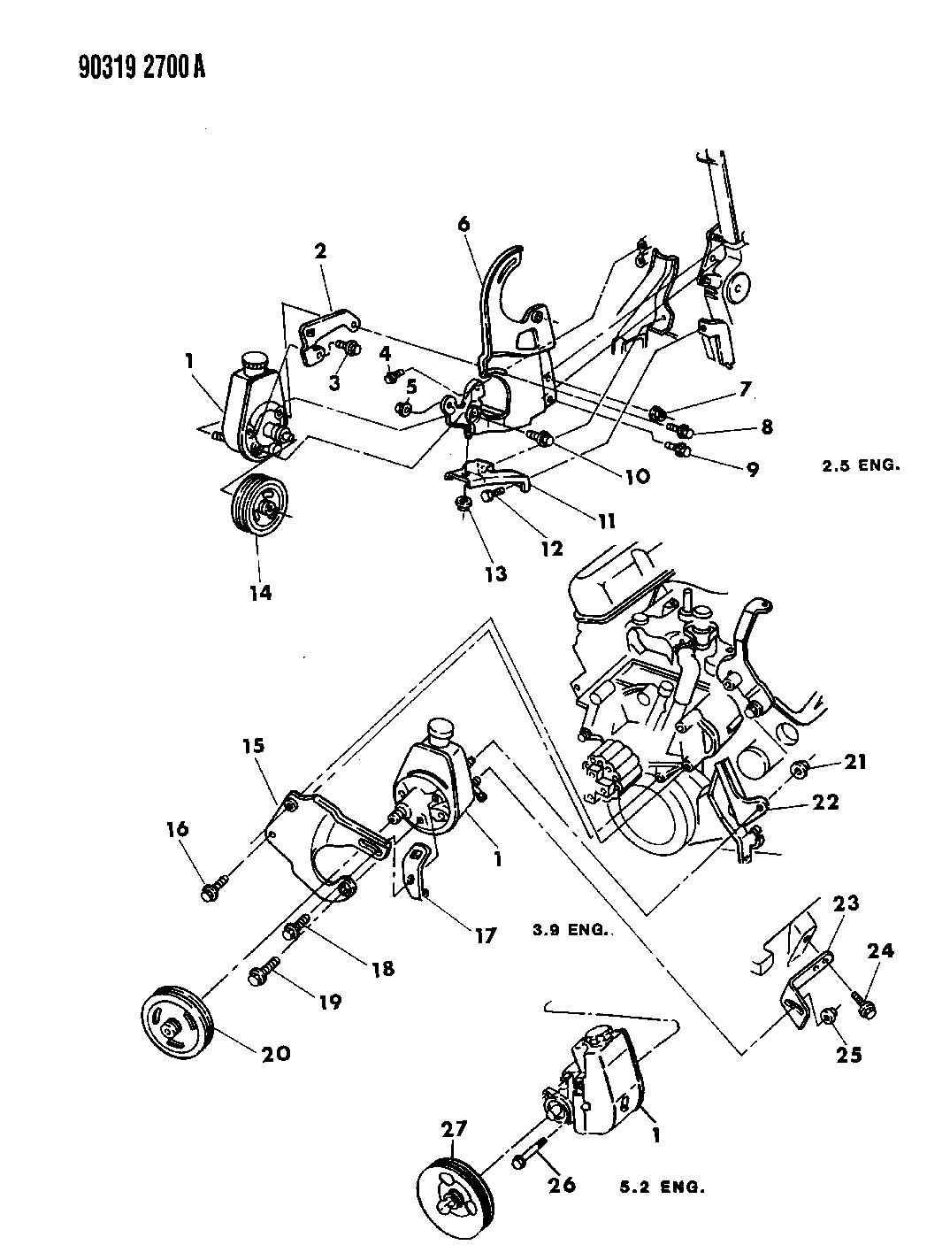 2000 dodge dakota power steering diagram  2000  free