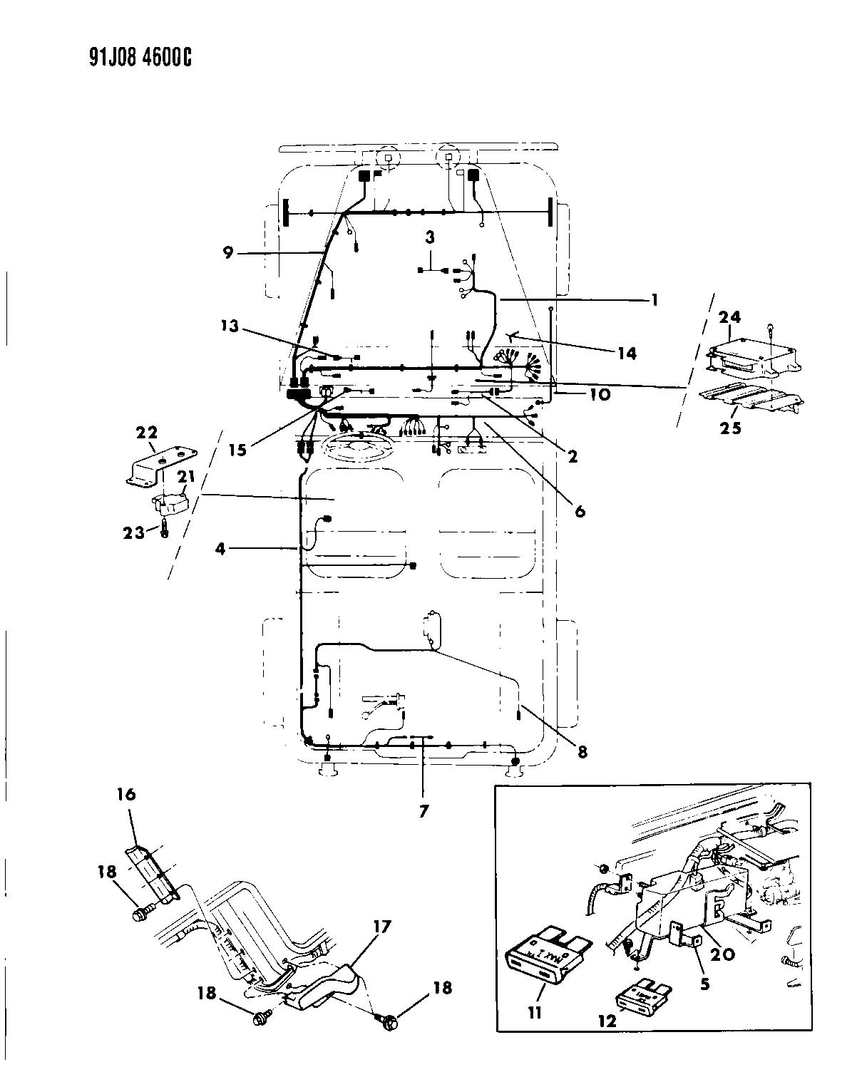 1988 Jeep Grand Wagoneer Wiring Diagram on 1988 Jeep Anche Wiring Diagram