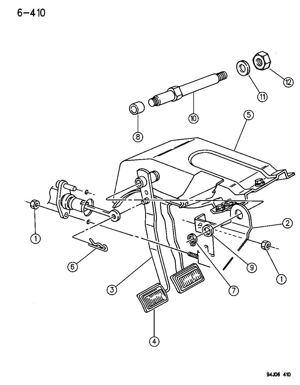 dodge dakota 45rfe transmission diagram