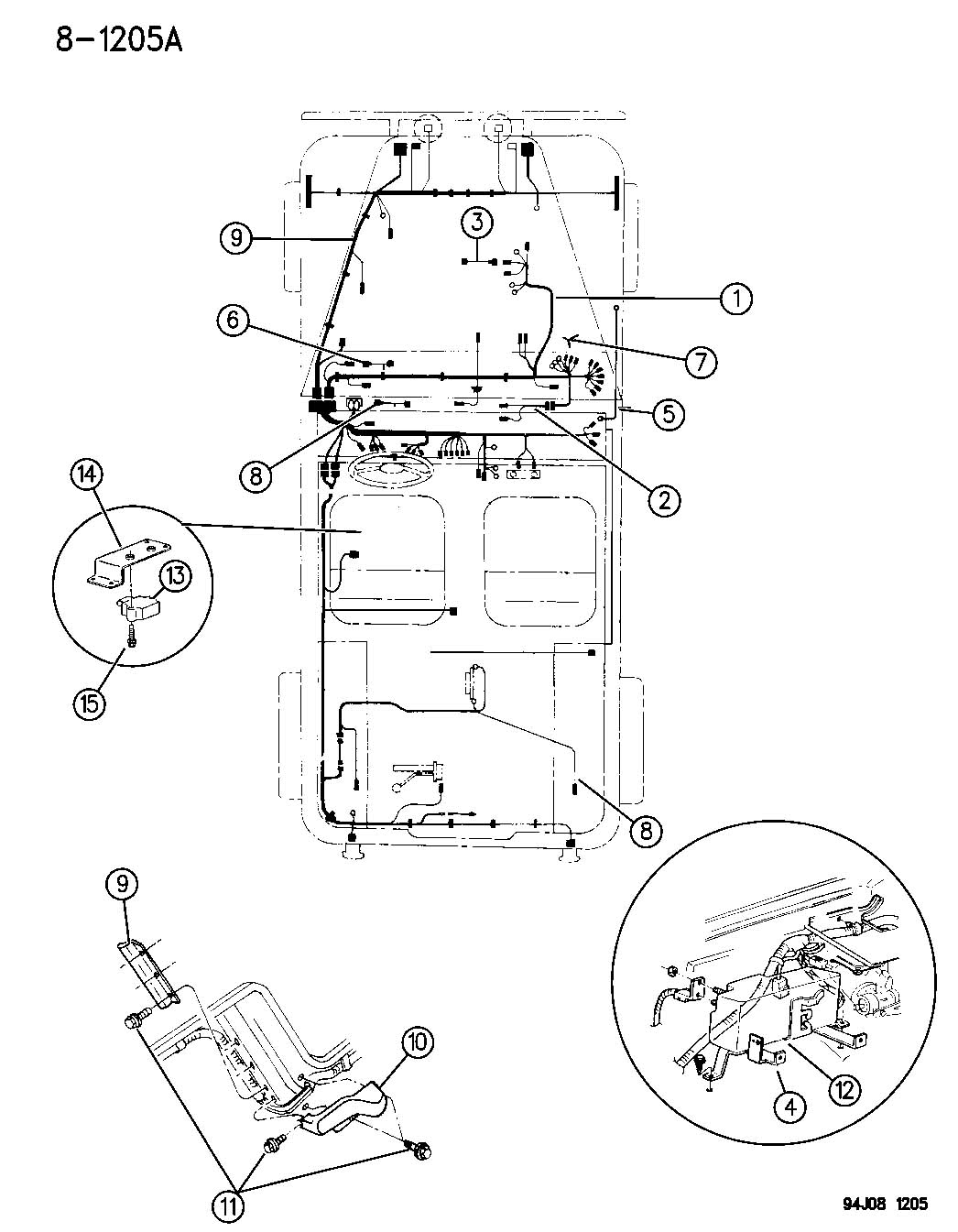 1995 Jeep Wrangler Engine Diagram Free Wiring For You Pcv 2 5l Power Tech I 4 Cyl 3 Spd 1993 Wiper Motor