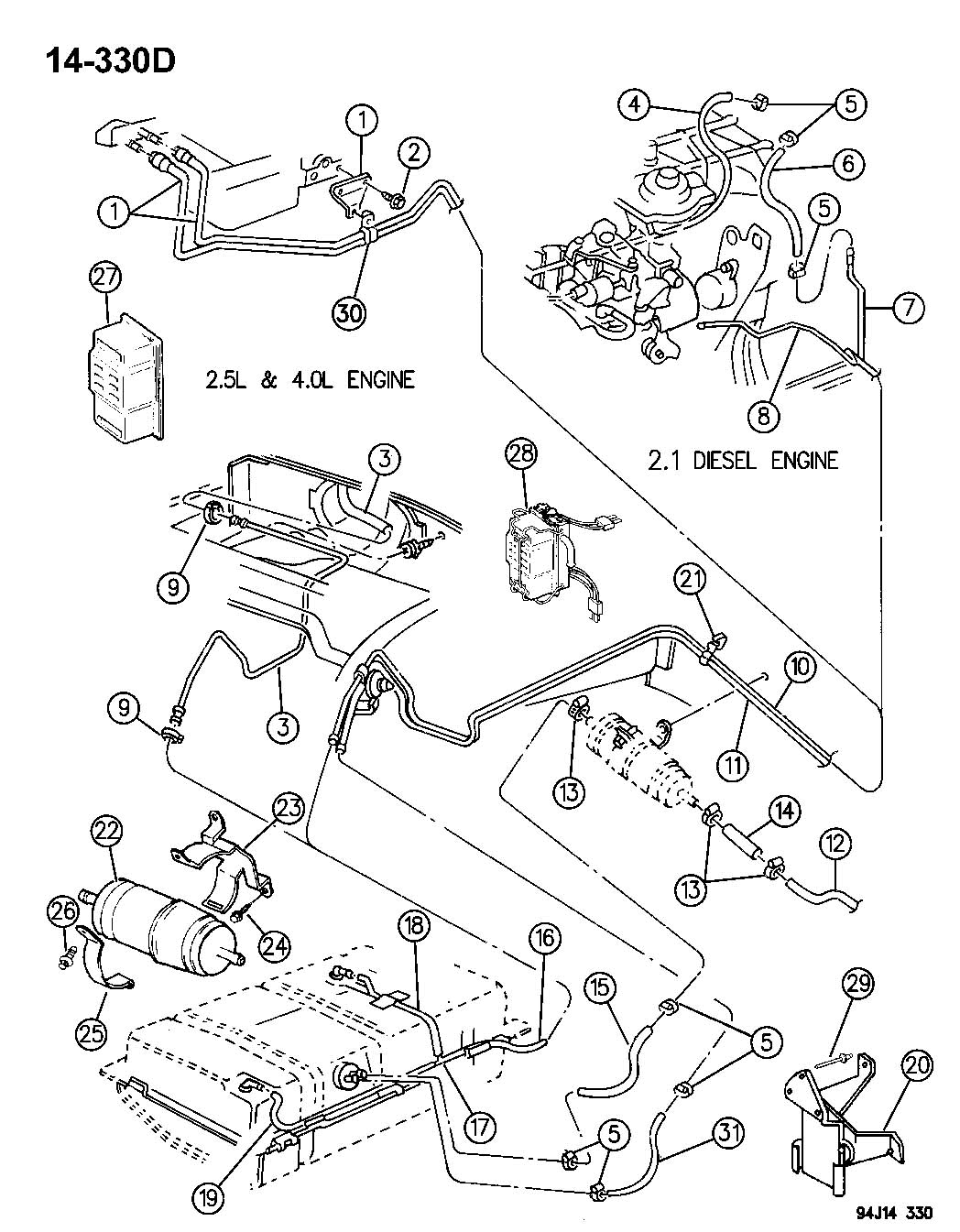 1995 jeep cherokee fuel lines pictures to pin on pinterest
