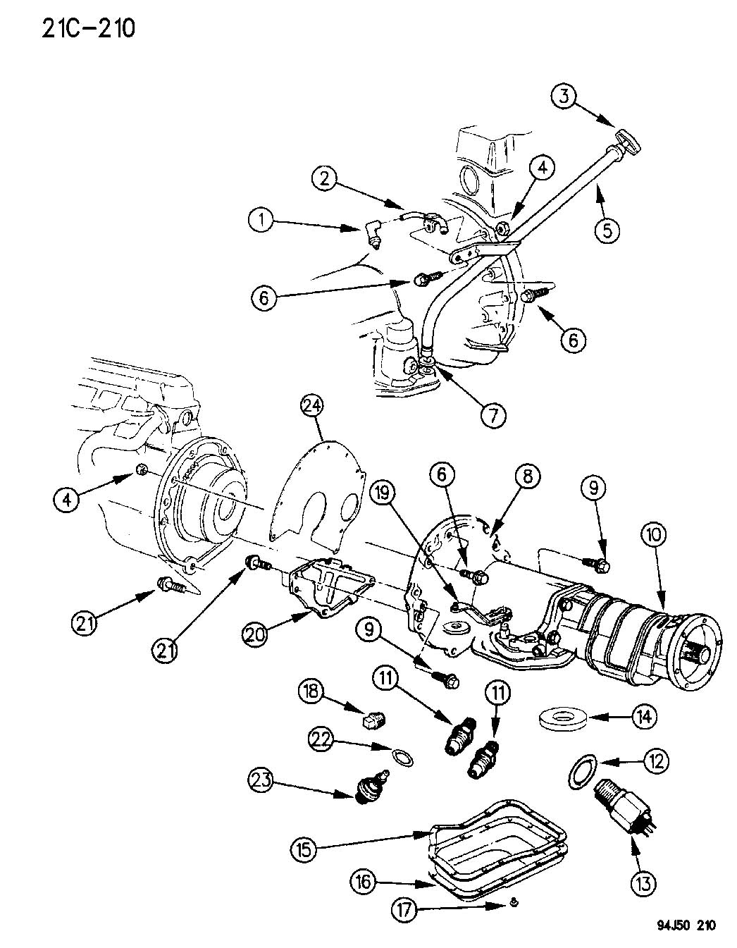 1995 Jeep Grand Cherokee Transmission Diagram
