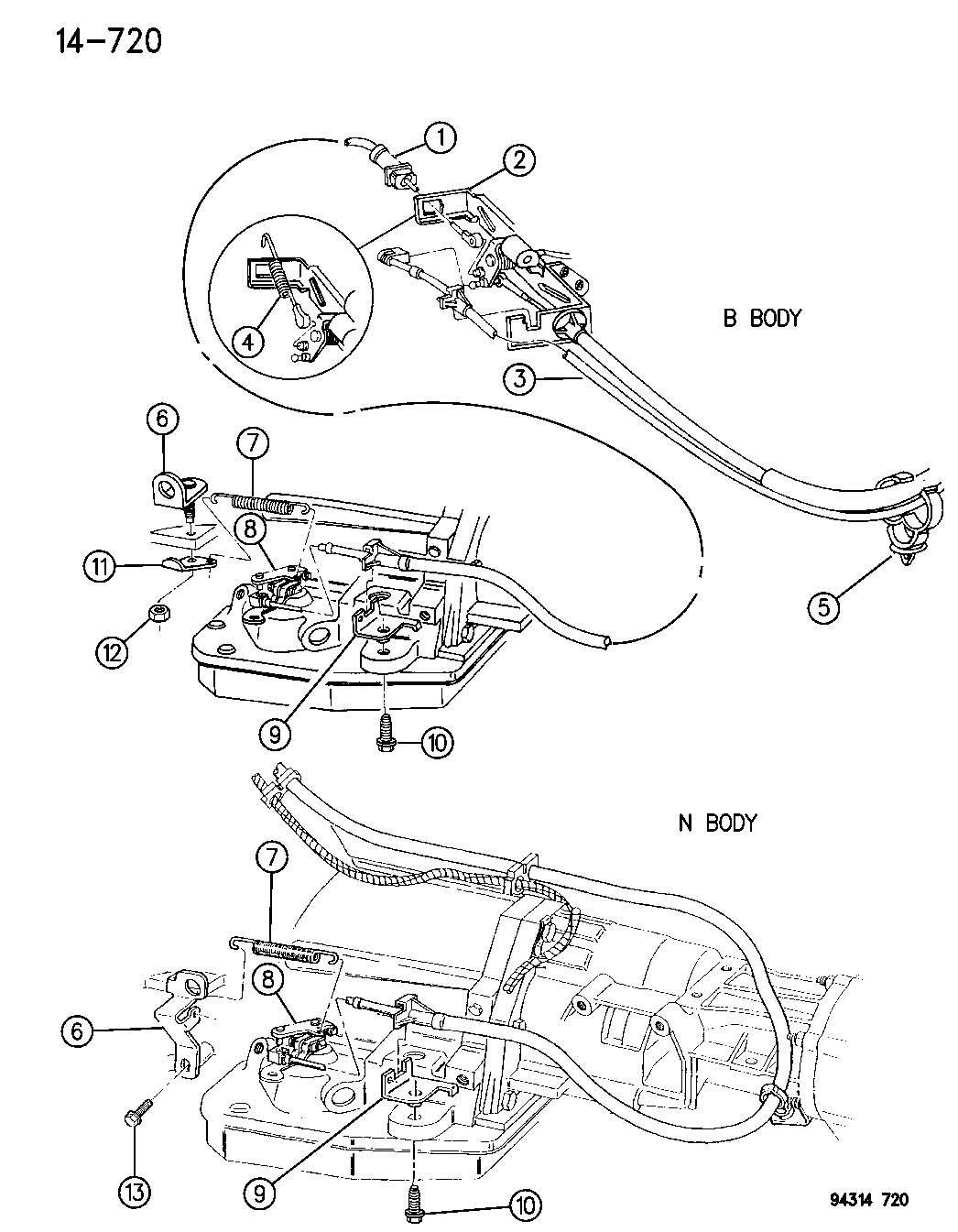 Dodge Dakota 5 2l V8 Mpi 4 Spd Automatic 46rh Throttle