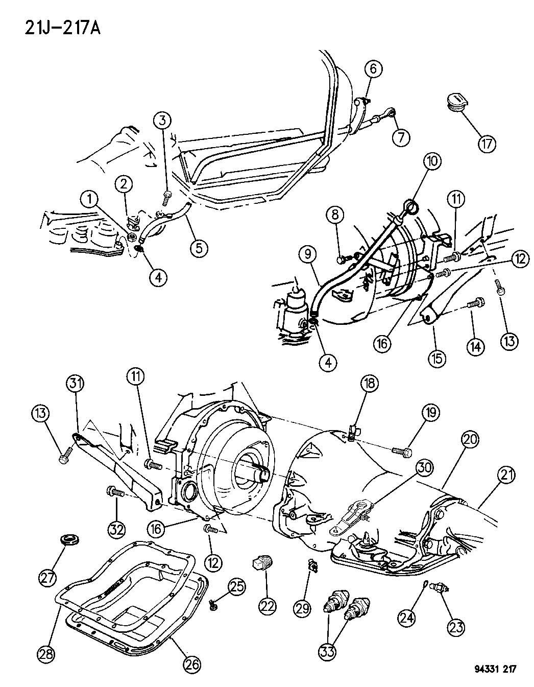 printable 47re transmission wiring diagram dodge 44re