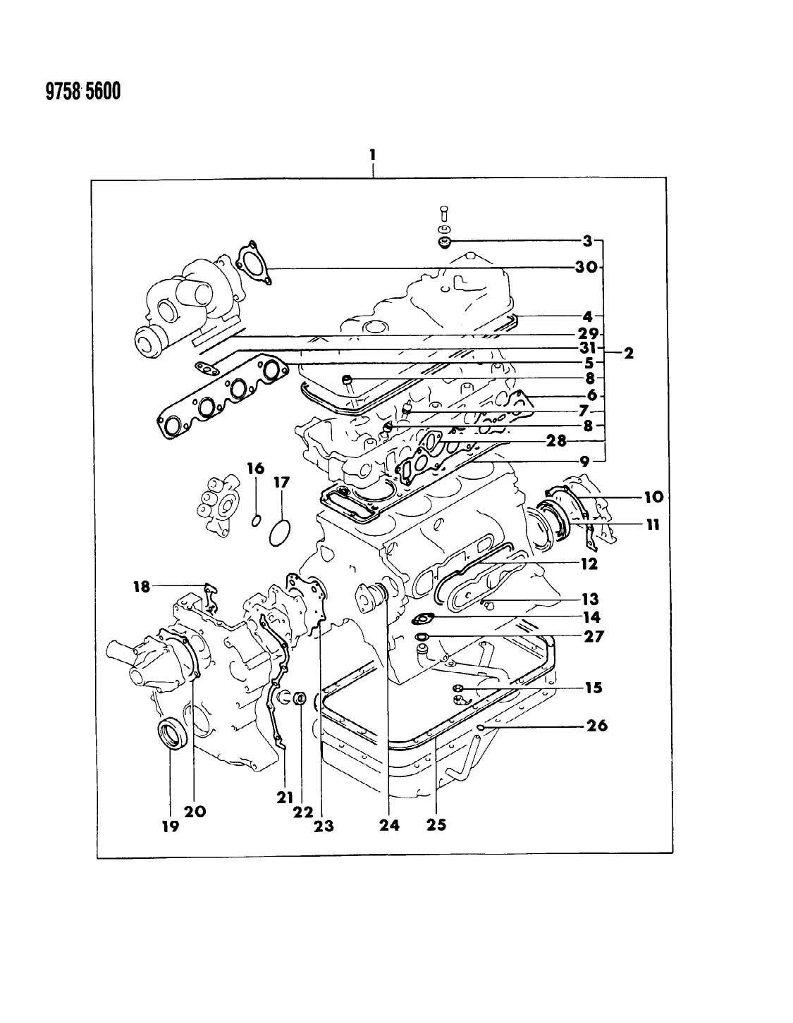1989 Dodge Ram 50 Wiring Diagram Schematics Dakota Raider Books Of U2022 98 Parts