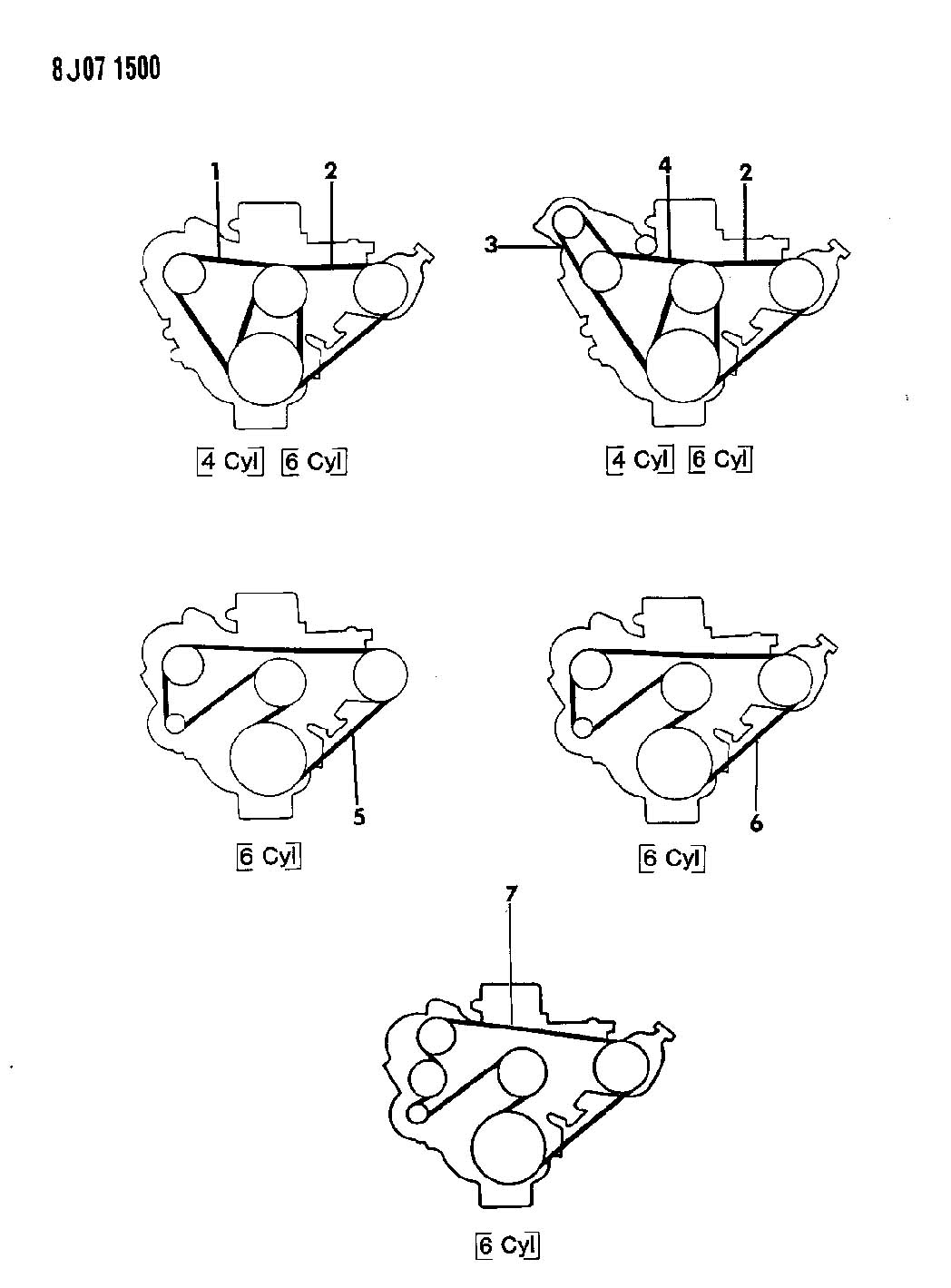 1990 jeep wrangler 4 2l i6 2bbl gas