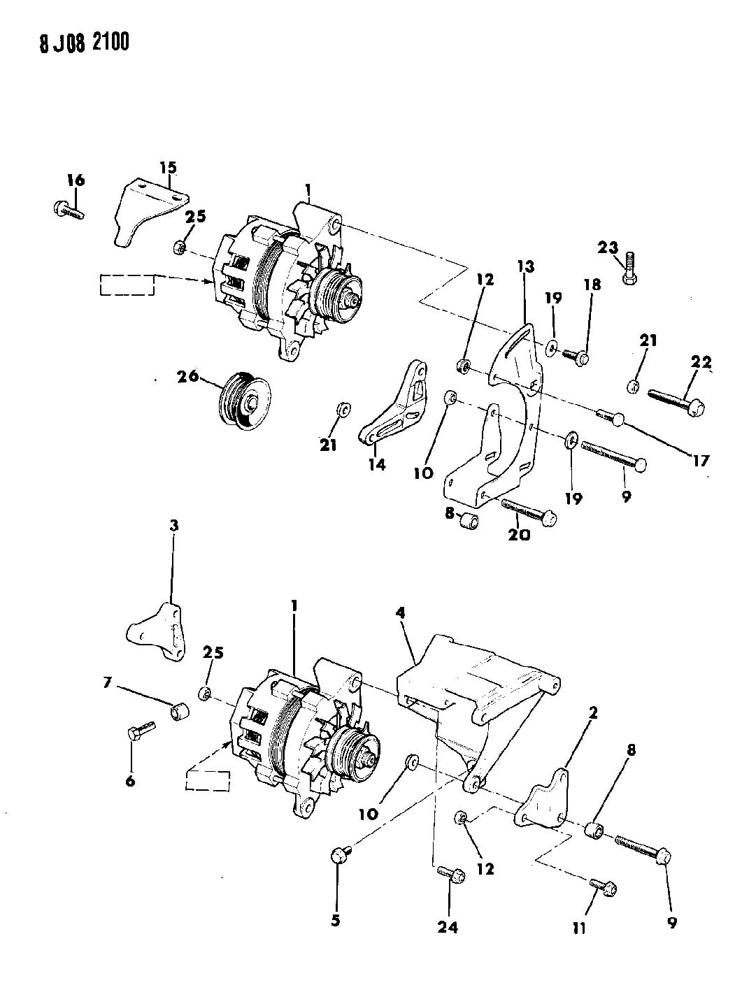 1990 jeep cherokee 2 5l i4  5 speed manual alternator and 12Si Alternator Wiring GM Alternator Wiring Diagram