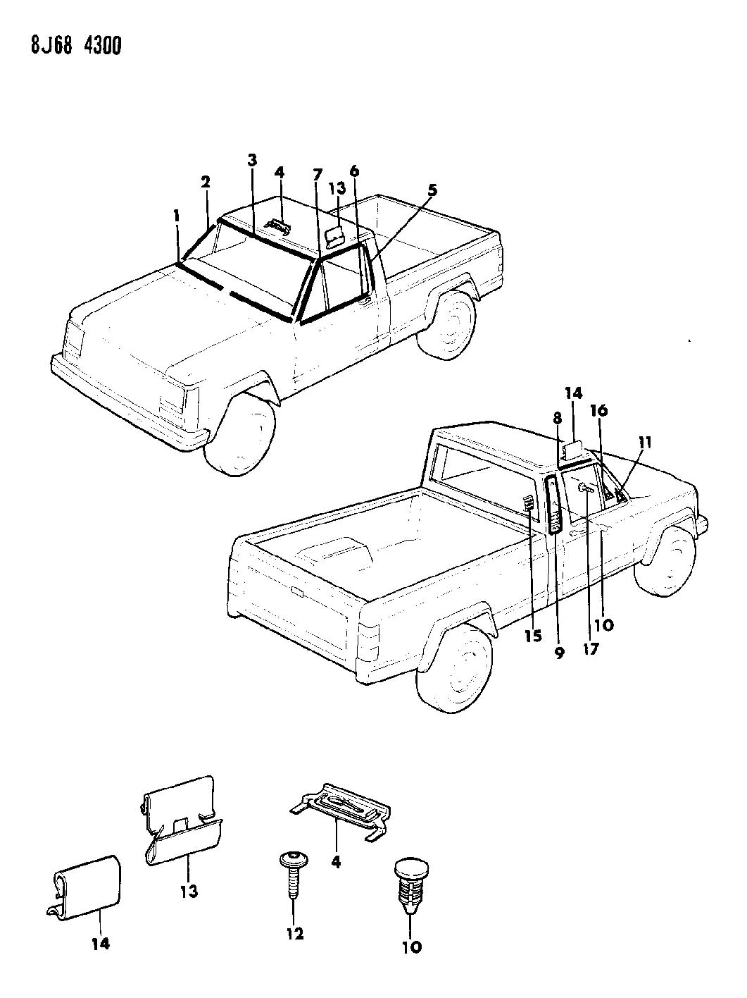 Jeep Body Panels Wiring Diagram And Fuse Box