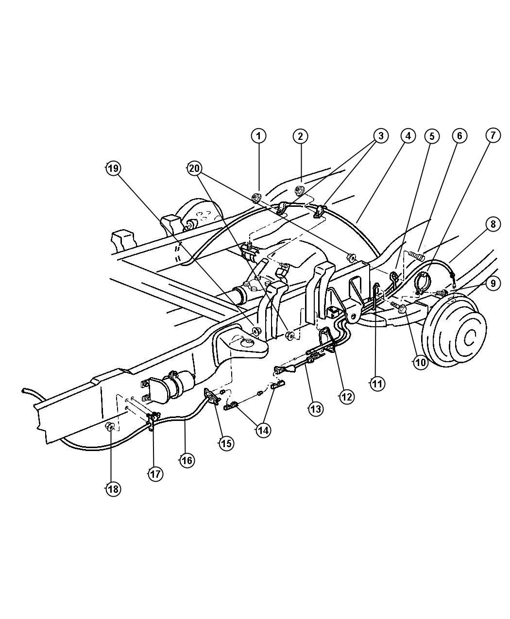 1999 Dodge 2500 Brake Line Diagram Best Secret Wiring 2001 Vw Eurovan Ram 1500 Pictures To Pin On 99