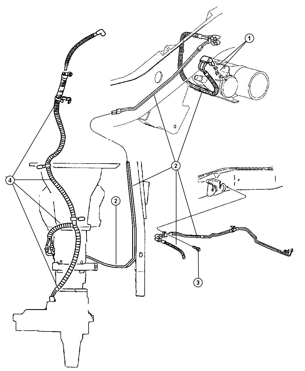 parts diagram for 1997 dodge ram 2500 4x4  parts  free