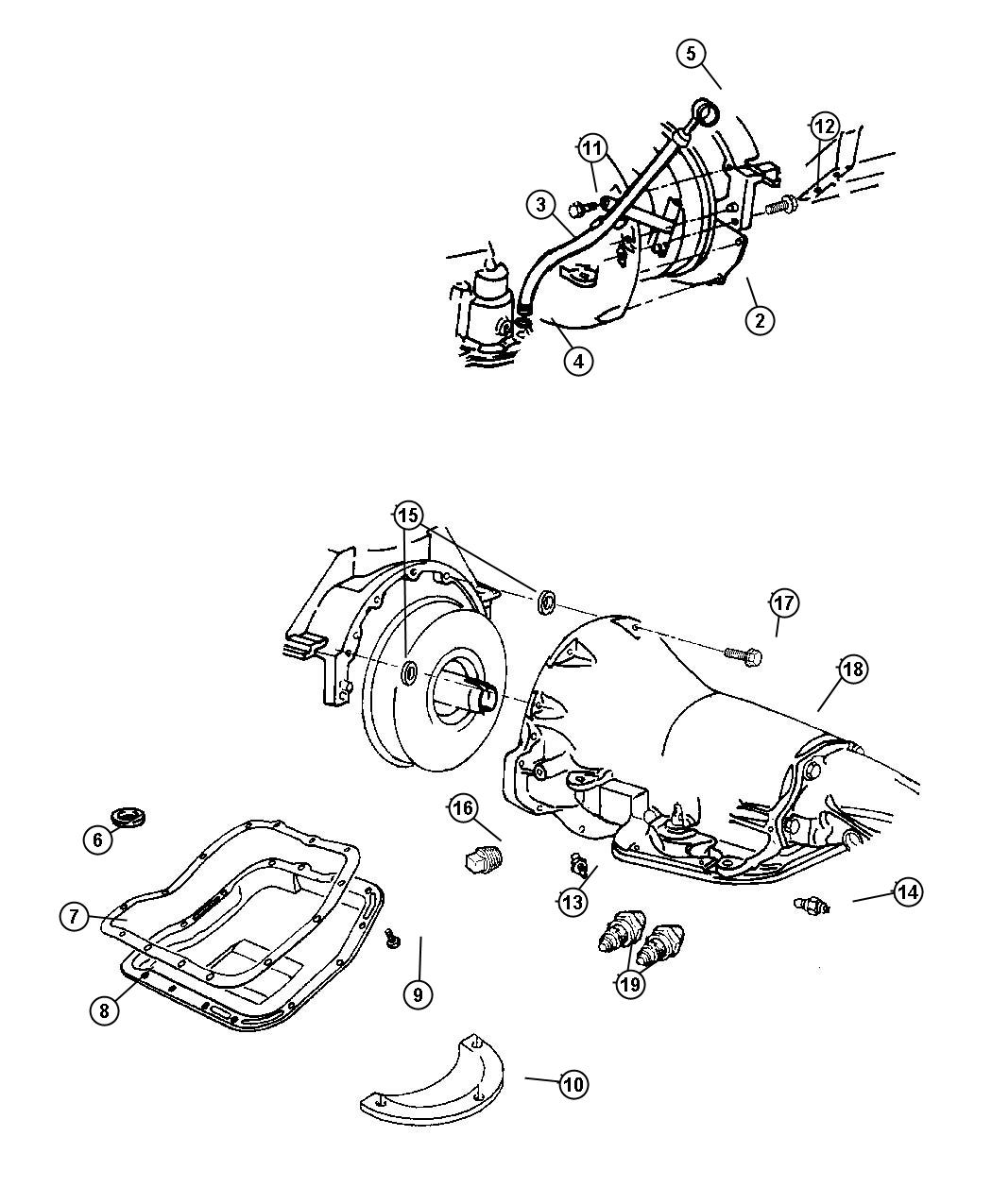 dodge 46re valve body diagram chrysler transmission parts