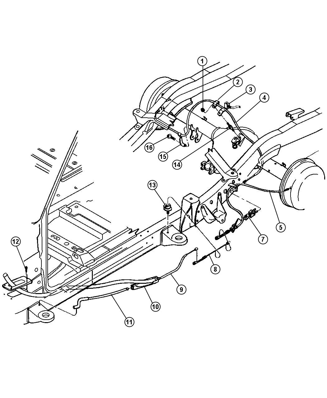 Dodge Dakota Brake System Diagram : Service manual brake change on a dodge dakota