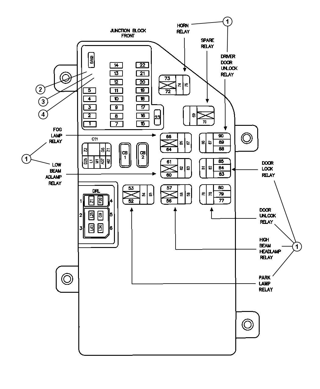00i58804 Radio Wiring Diagram For A Chrysler Concorde on