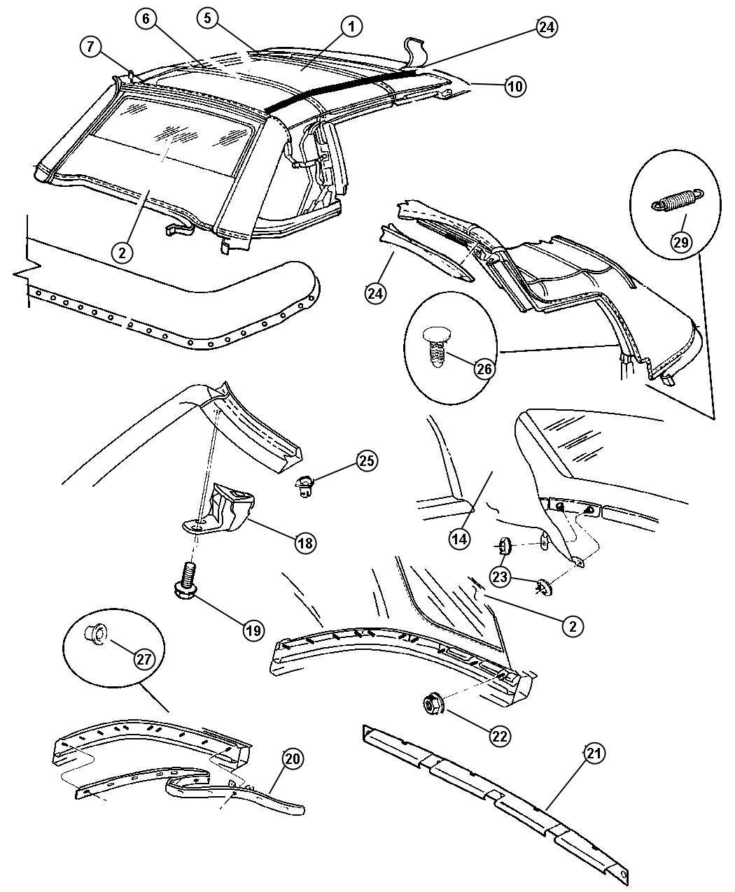 suzuki samurai frame diagram