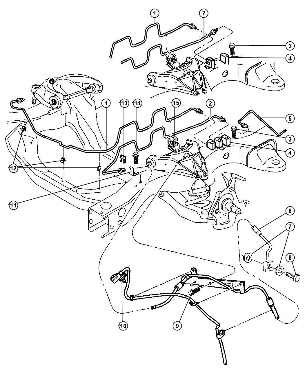Dodge Dakota Brake System Diagram : Dodge durango abs wiring harness diagram