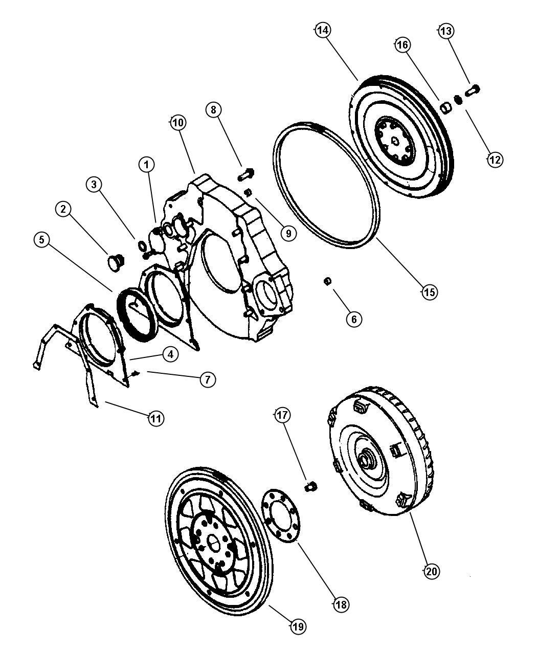 Dodge Ram 3500 Magnum 5.9L SMPI V8, 5-Speed Manual