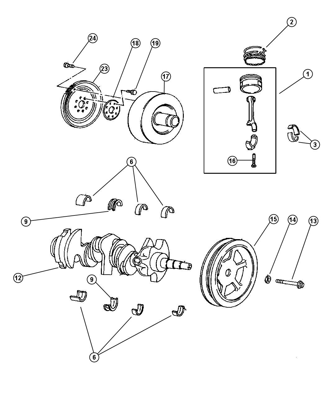 service manual  rod bearing replacement torque 2005