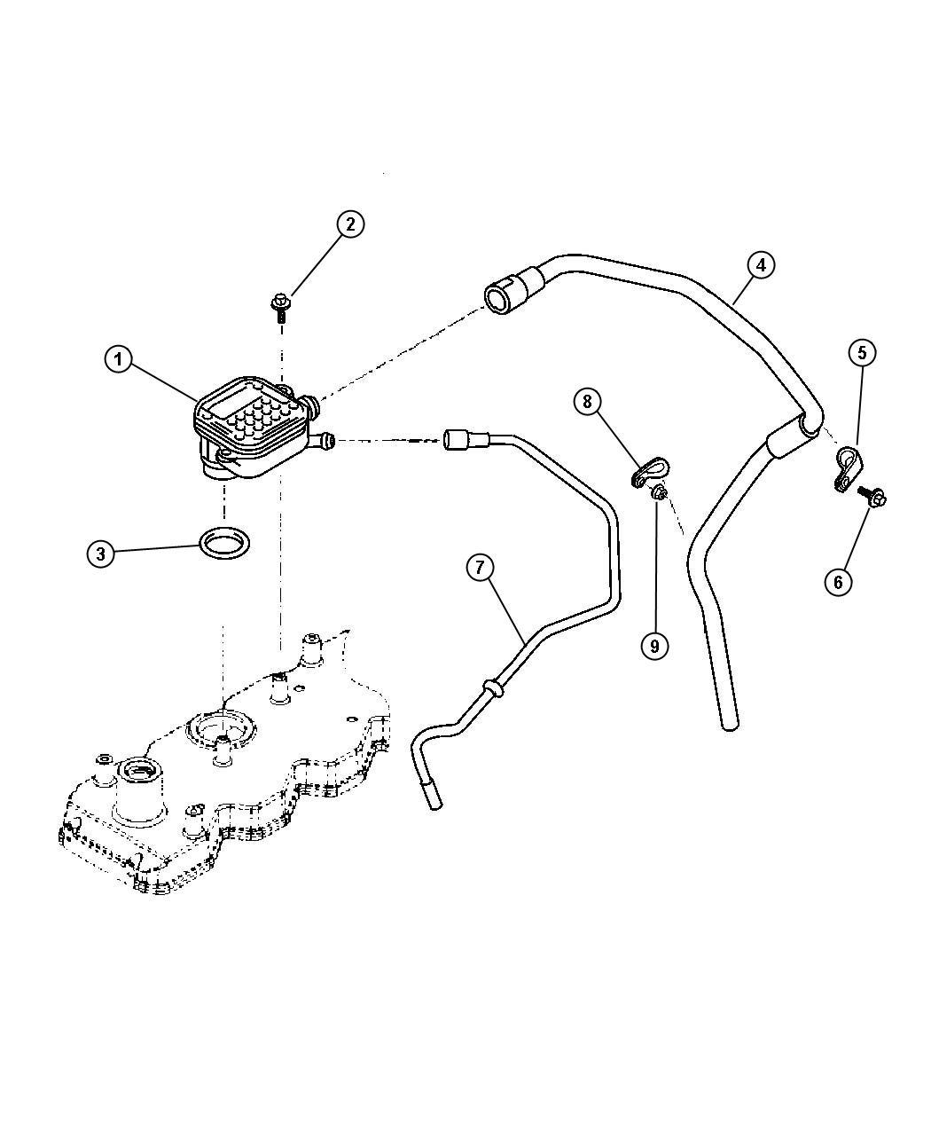crankcase ventilation 5 9l diesel  eth