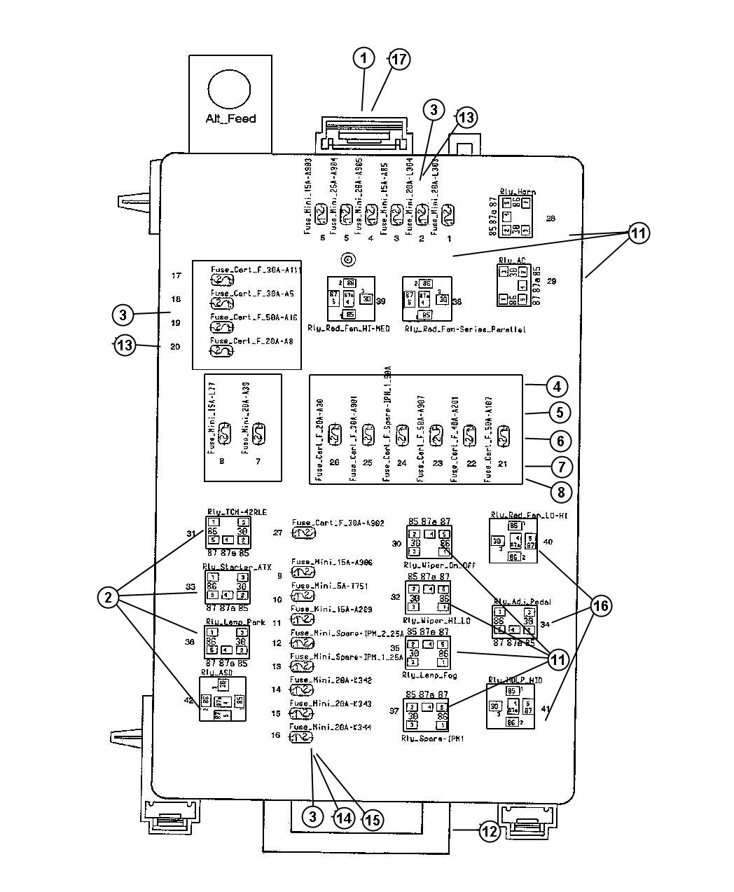 wiring diagram 2004 dodge 2500 wiring discover your wiring 2006 chrysler 300 cooling fan relay location