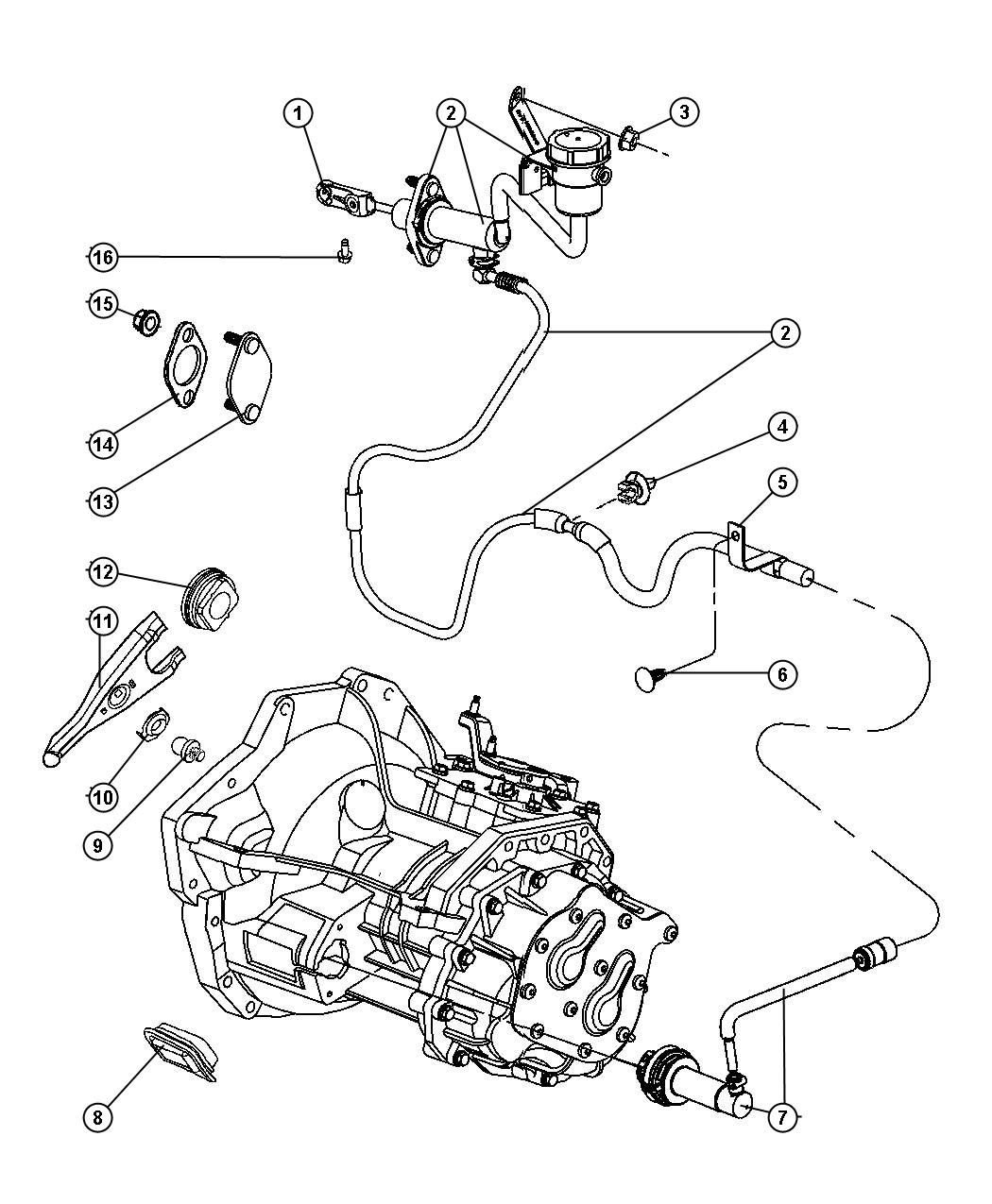 Dodge neon parts diagram