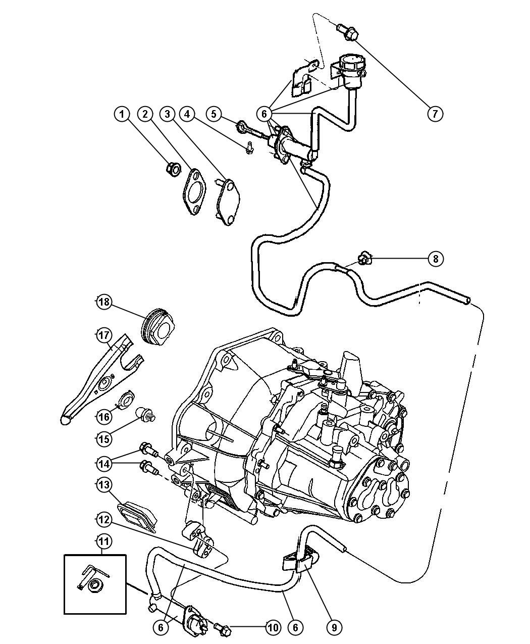 2006 pt cruiser rear suspension diagram