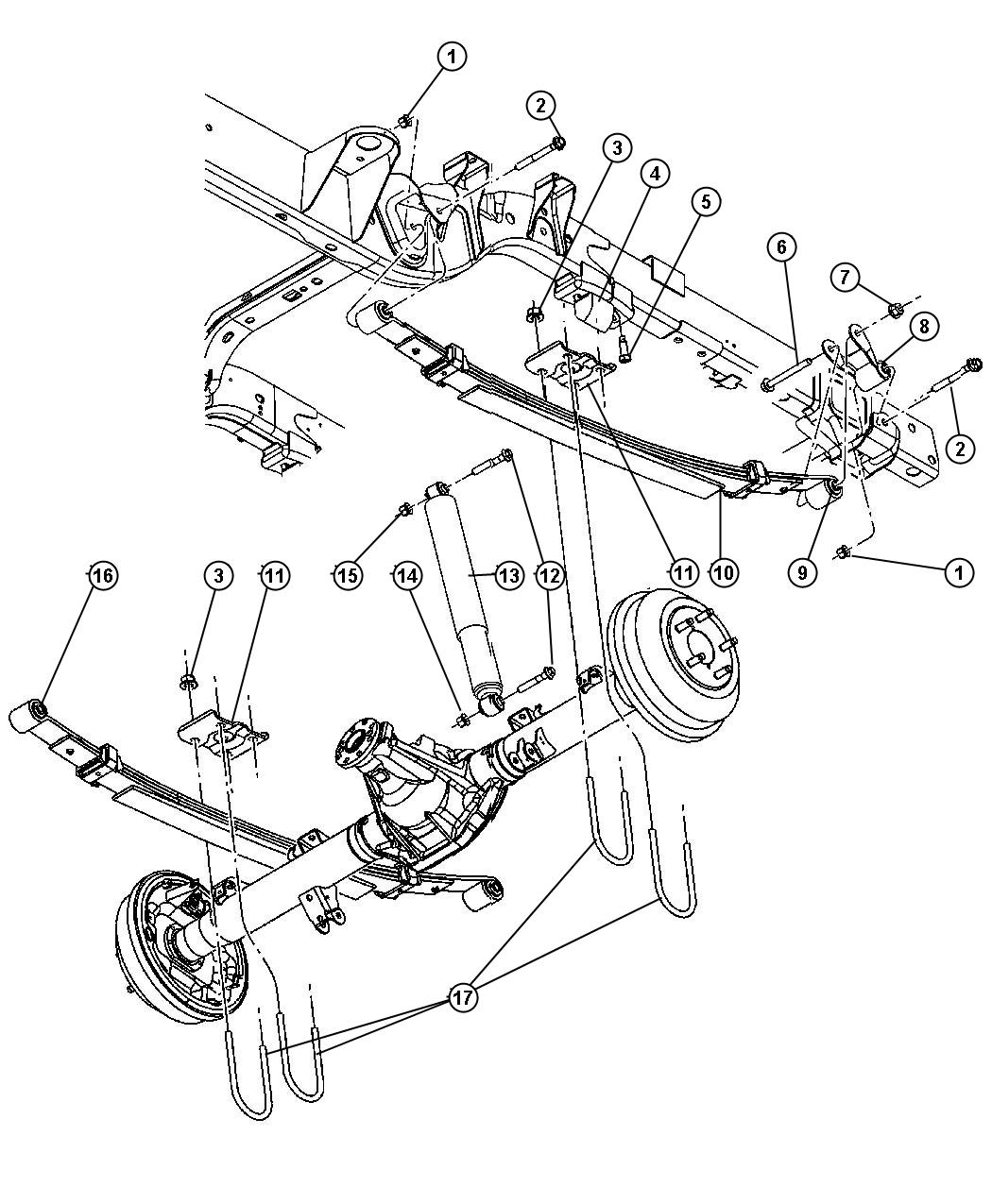 2006 chrysler pacifica front end diagram