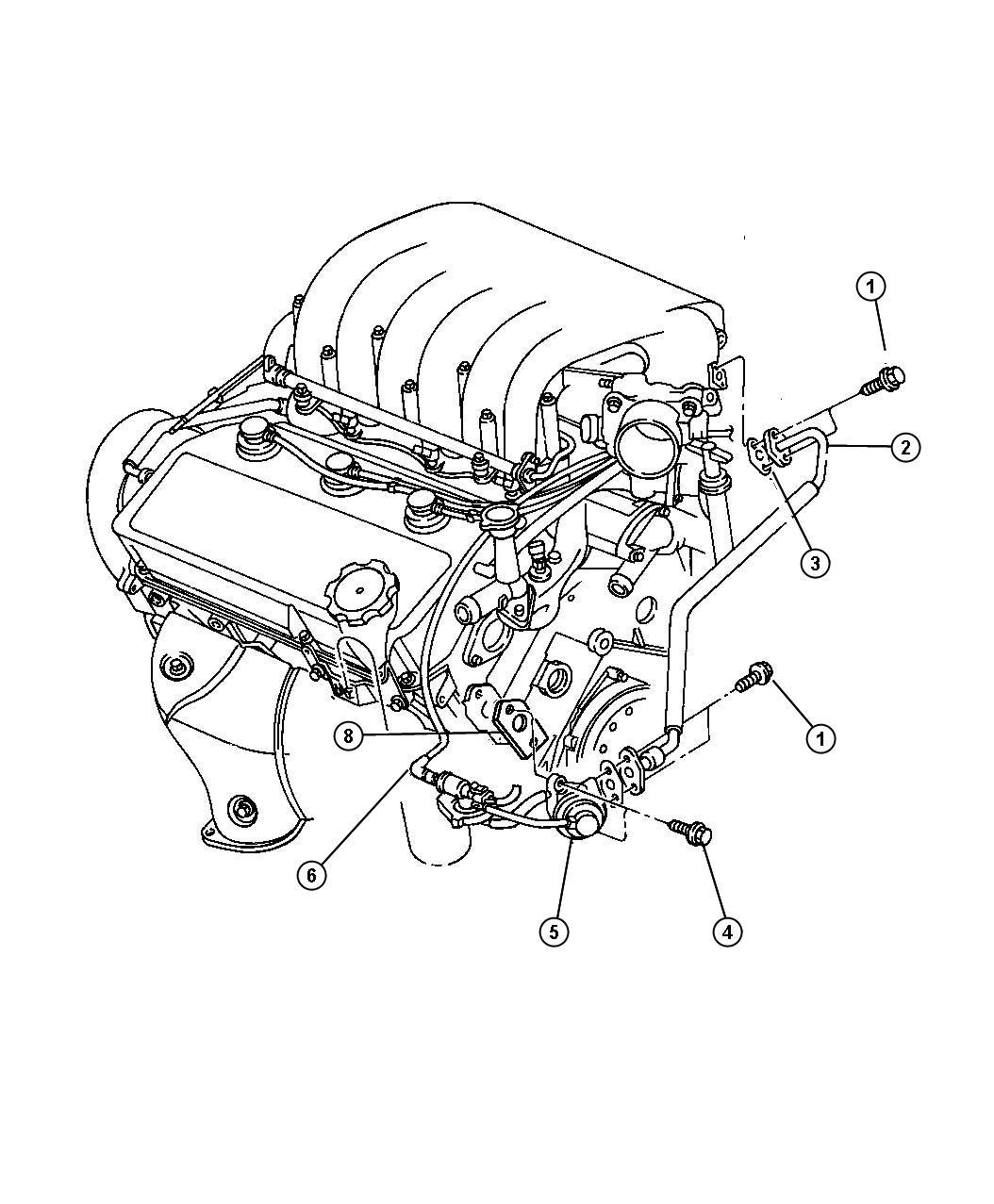 1997 chrysler sebring 2 5l v6 sohc 24v smpi  4