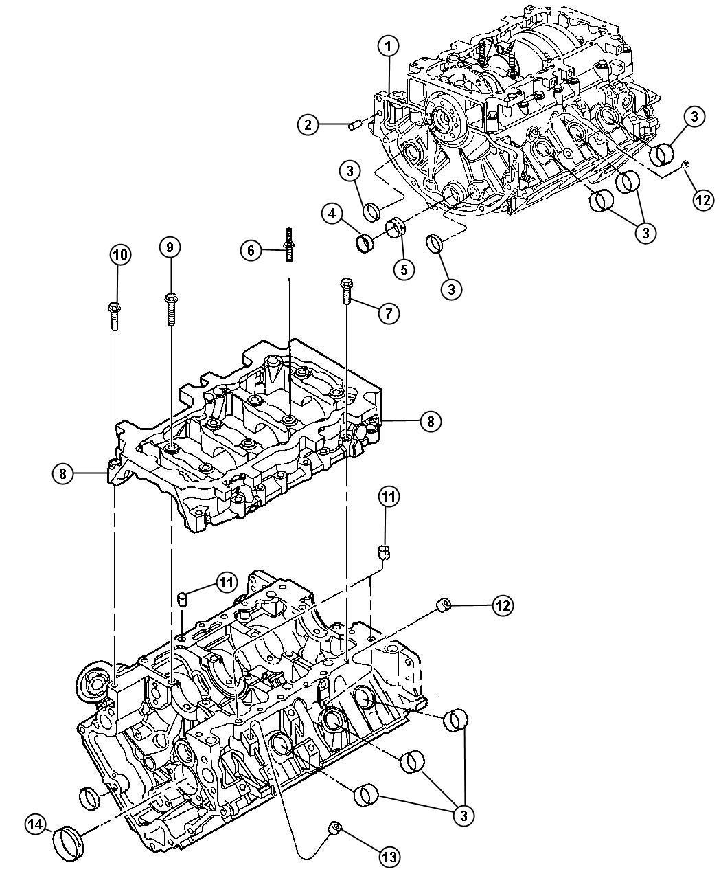 2007 Jeep Commander 4x4, 3.7L V6, 5-Speed Auto W5A580