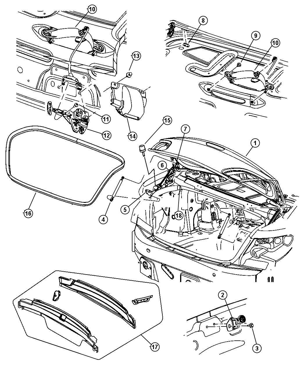 2007 Chrysler Sebring 2.4L 4 Cyl DOHC 16V Dual VVT, 4