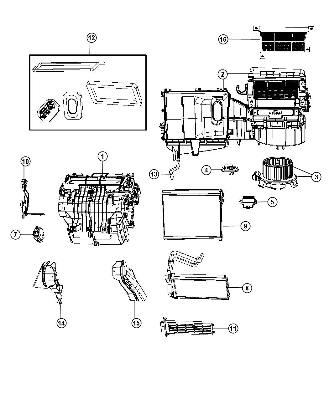 service manual  2008 dodge avenger heater motor replace