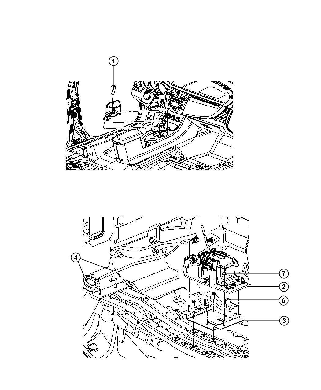 2009 Dodge Avenger Transmission: 2008 Dodge Avenger Gearshift Controls