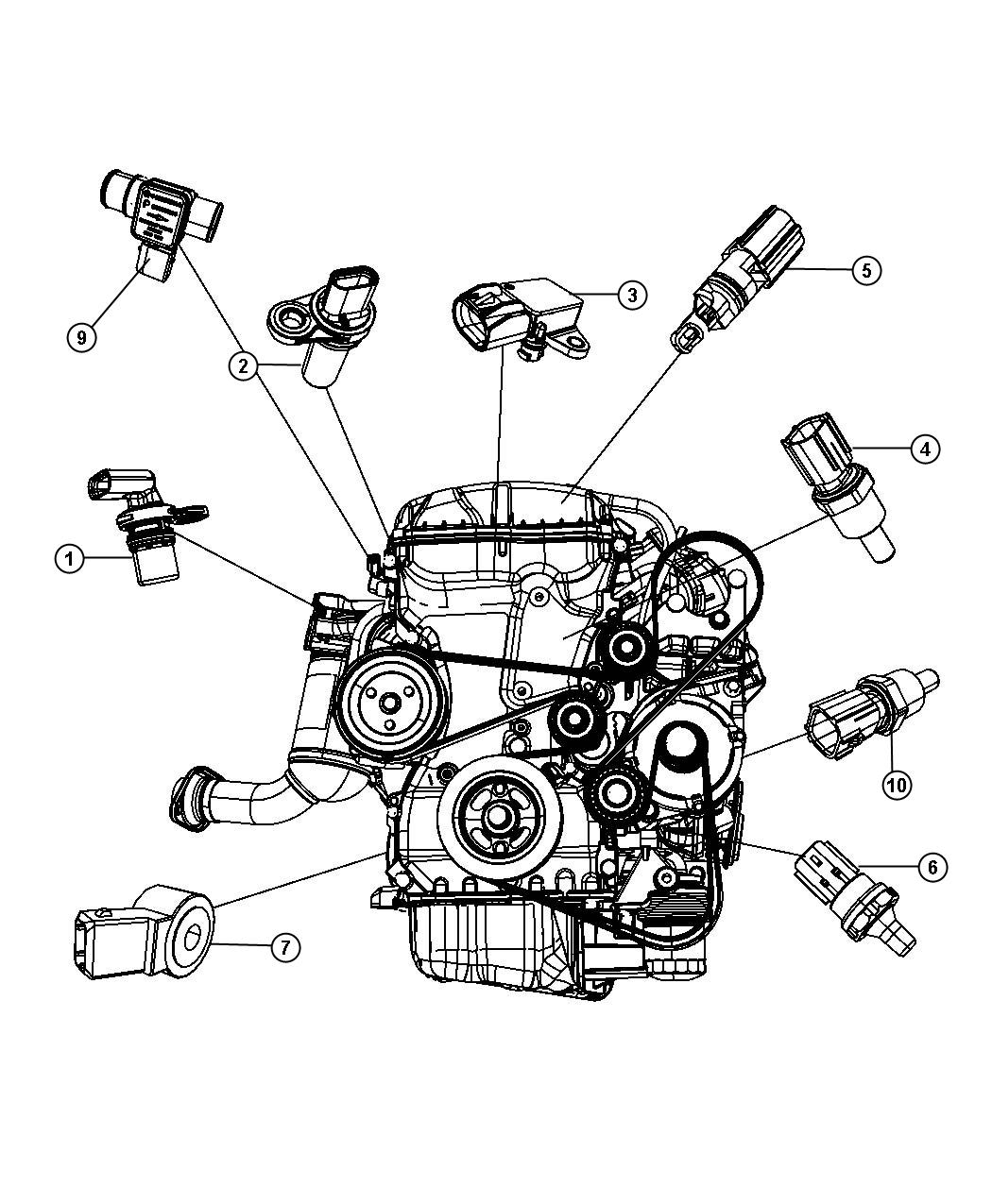 The Ins And Outs Of Engine Timing And What Happens When It Goes Wrong moreover Dodge Ram 1500 360 Engine Diagram in addition 651 Opel Starter Astra Kadett Cub Corsa 160i 16i 180i 18i Oe 96208781 10455506 further ShowAssembly as well P0340 Jeep. on jeep crankshaft position sensor location