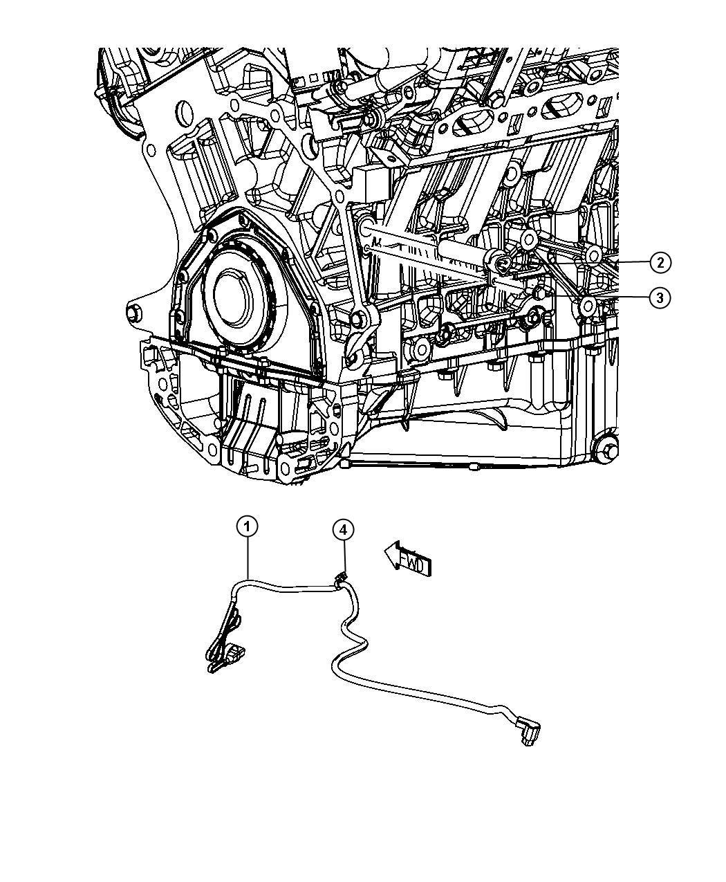 2009 chrysler sebring engine cylinder block heater 3 5l  egf