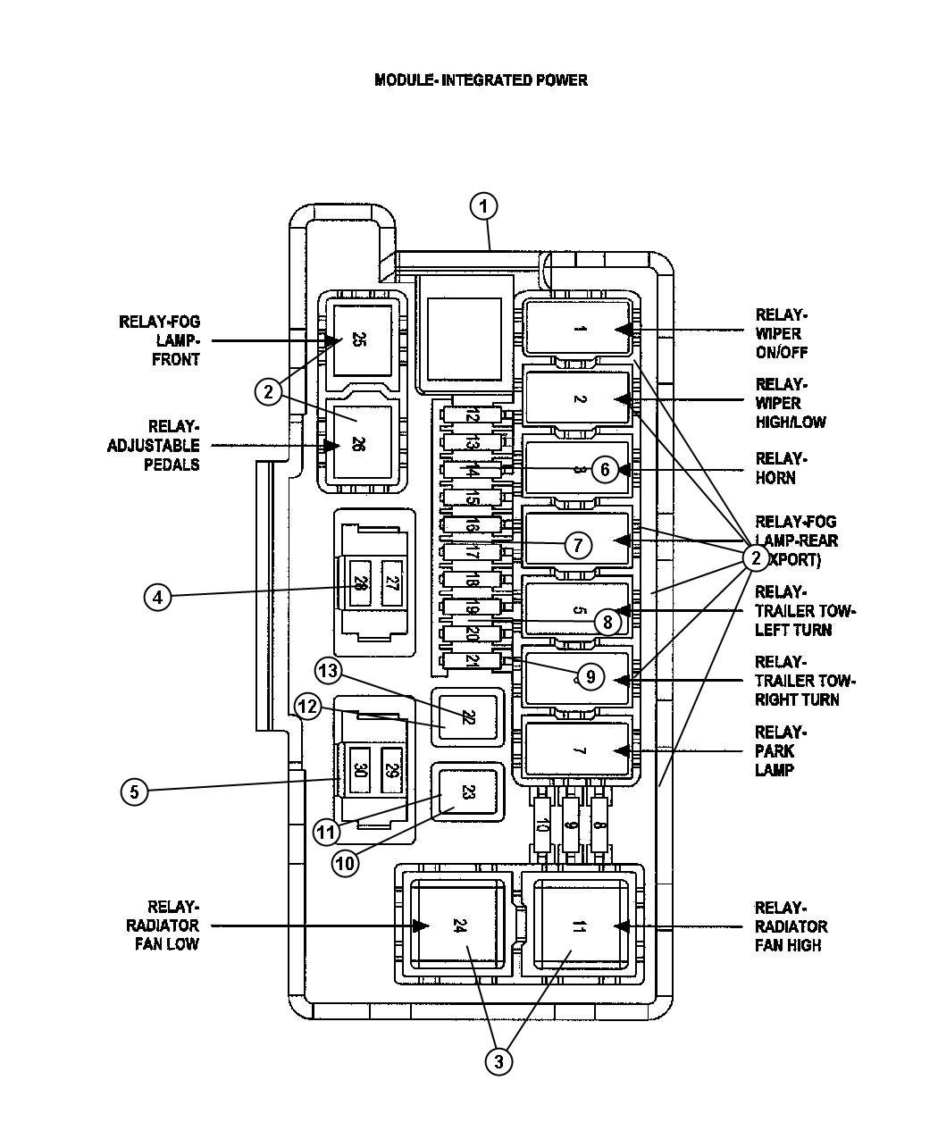 OUO1023 000289B 19 21SEP06 1 additionally Power Deck Trailer Wiring Diagram further The Towbar in addition 2002 Ford F 350 Diesel Power Distribution Fuse Box Diagram besides Watch. on trailer junction box wiring diagram