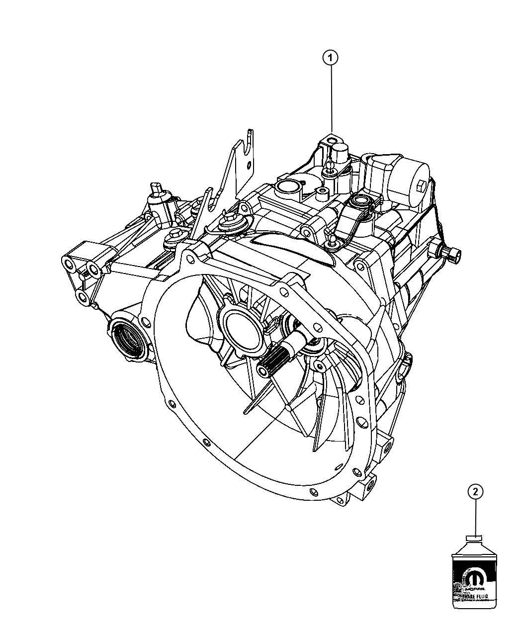 2010 Jeep Compass Transmission: 2010 Dodge Caliber Transmission / Transaxle Assembly