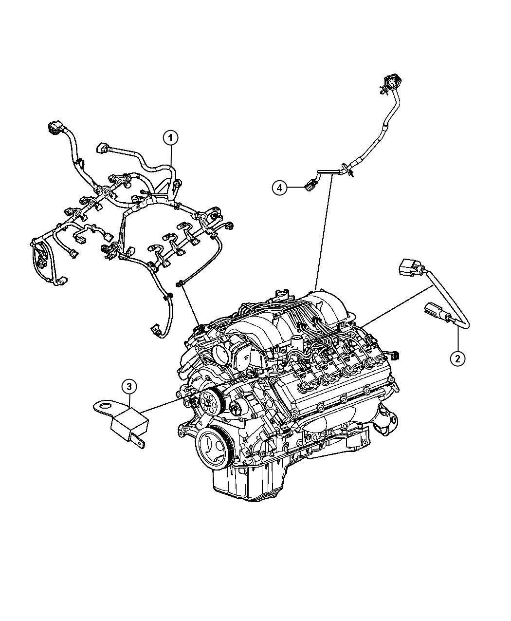 Wiring Diagram 98 Chevy K1500 5 7l Engine: 2012 Dodge Challenger 5.7L V8 HEMI MDS VVT, 5-Speed Auto
