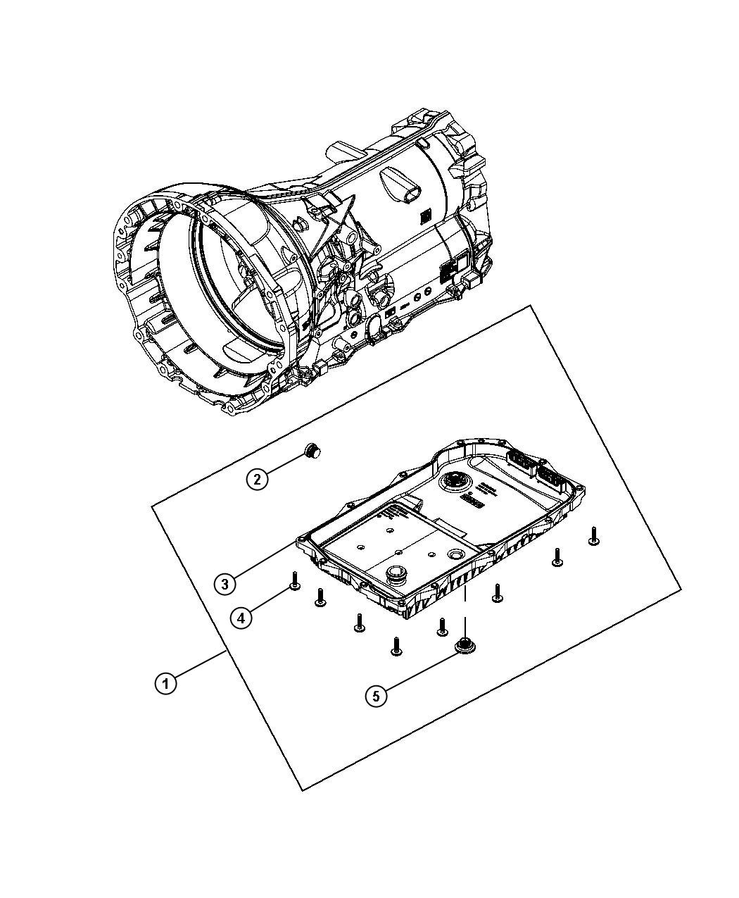 oil pan  filter and related parts